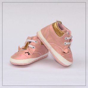 Baby Step Baby Shoes Pink Unicorn