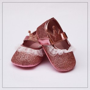 Baby Step Baby Shoes Golden Crown