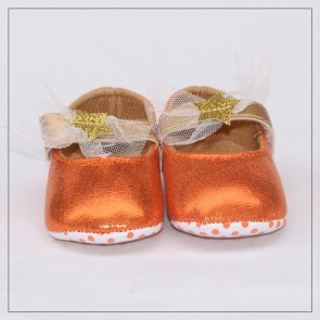 Baby Step Baby Shoes Orange
