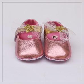 Baby Step Baby Shoes Pink Star