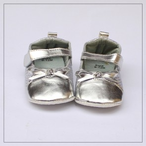 Baby Step Baby Shoes Silver
