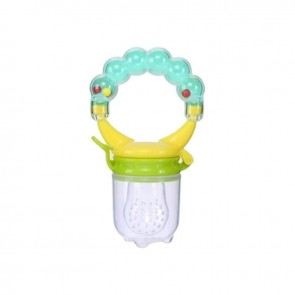 Little Star Food Soother With Rattle Mint Green