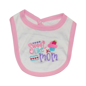 Little Star 6 PCS Suit Set Sweet Like Mom Pink