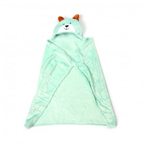 Baby Blore Blanket Bear Green