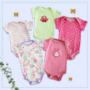 Little One Bodysuit 5pcs Set Multicolor (12 Months)