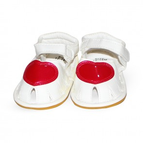 Baby Steps Sandals Red Heart