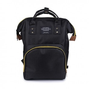Baby Diaper Bag (Waterproof) Black