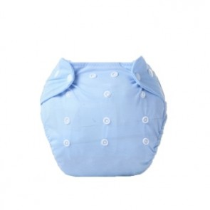 Little One Reusable Baby Nappies Blue