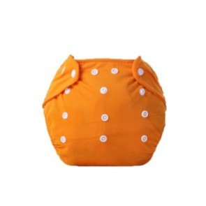 Little One Reusable Baby Nappies Orange
