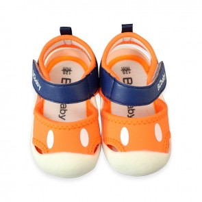 Baby Steps Sandal Orange & Blue