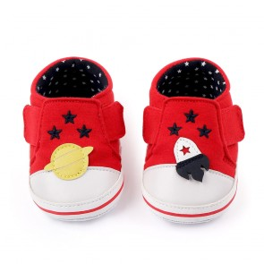 Baby Steps Shoes Star Red