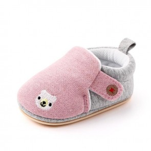 Baby Steps Shoes Bear Pink