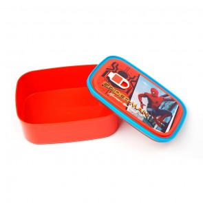 Little One 2 Pcs Lunch Box Red Spiderman