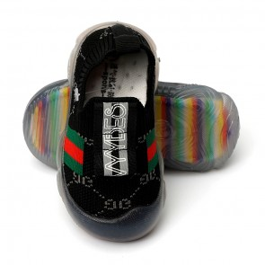 Happy Toes Kids Shoes Black