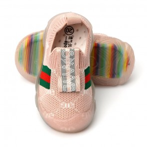 Happy Toes Kids Shoes Pink