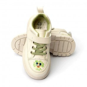 Happy Toes Kids Shoes Mickey White
