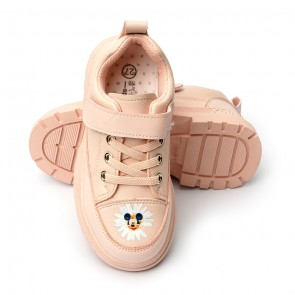 Happy Toes Kids Shoes Mickey Pink