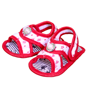 Baby Bubble Sandal Red (0-6 Months)