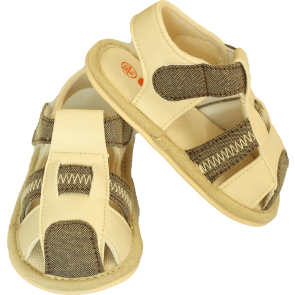 Baby Bubble Sandal Grey & Brown