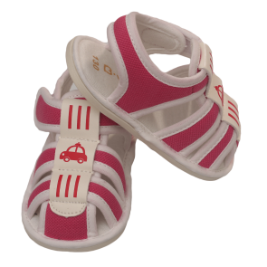 Baby Bubble Sandal Dark Pink Car