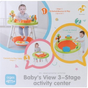 Little Angel - Babys View 3-Stage activity Center
