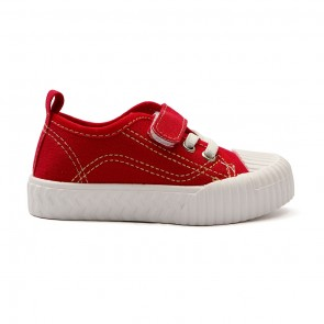 Bachaa Party Fancy Strap Style Sneakers - Red
