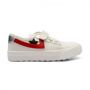 Bachaa Party Fancy Strap Style Sneakers - Star White