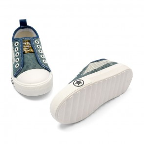 Bachaa Party Fancy Slip On Sneaker - Jeans Blue