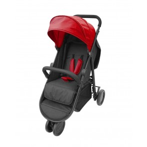 Bachaa Party Foldable Baby Stroller - Red