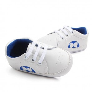 Baby Steps Shoes Football Light Blue