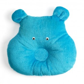 Cuby Baby Pillow Monkey Blue
