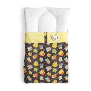 Cuby Baby Carry Nest Owl Brown