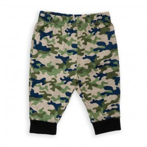 Cuby Baby Trouser Camo Green