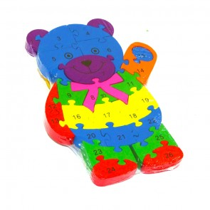 Little Star Bear Shaped Puzzle