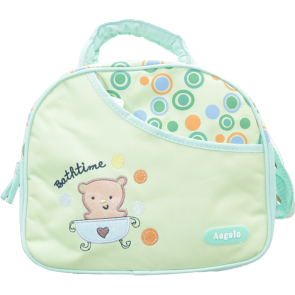 Little Sparks Baby Diapers Bag Green (Small)