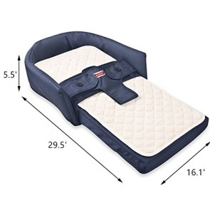 iBaby Multifunctional Baby Bed Blue
