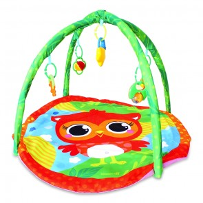 Little Sparks Baby Playgym Owl Red