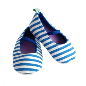 Little Sparks Baby shoes Blue Strpes