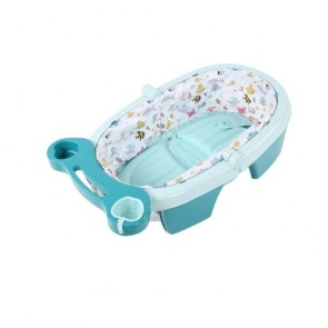 iBaby Fold Away Baby Bath Tub Blue