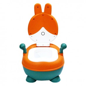Little Sparks Baby Potty Trainer Rabbit Orange