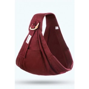 Little Sparks Baby Ring Sling Carrier Maroon