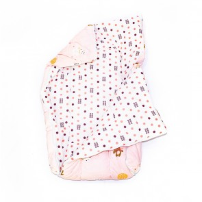 Little Sparks Baby Carry Nest / Sleeping Bag Fox Pink