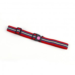 Little Sparks Kids Belt Red Stripes