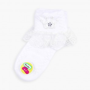 Little Sparks Baby Socks White