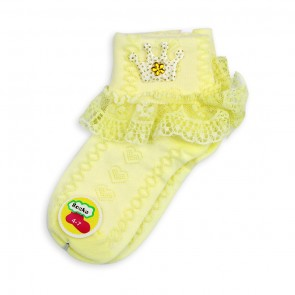 Little Sparks Baby Socks Green