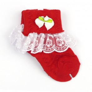 Little Sparks Baby Socks Red
