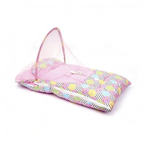 Little Sparks Baby Carry Nest With Mosquito Net Pink