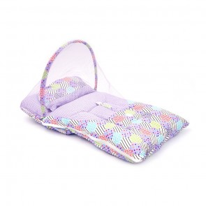 Little Sparks Baby Carry Nest With Mosquito Net Purple