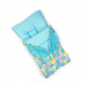 Little Sparks Baby Carry Nest With Mosquito Net Green