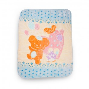 Little Sparks Baby Blanket Bear Blue